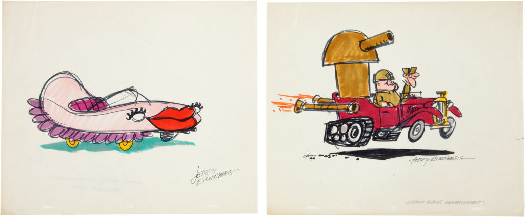 The Wacky Racers Concept Art